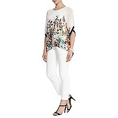 Coast - Carolina sassori printed top
