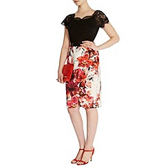 Coast - Debenhams exclusive 'Etiana' printed pencil skirt