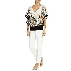 Coast - Sassori printed calla top