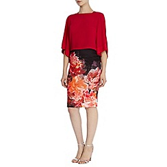 Coast - Peony bloom pencil skirt