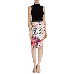 Coast - Debenhams 'Bossa' print pencil skirt