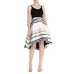 Coast - Riley stripe skirt dress