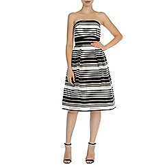 Coast - Evie stripe bandeau dress