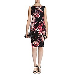 Coast - Piana print carly dress petite