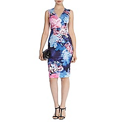 Coast - Debenhams exclusive 'Acona' print riminda dress