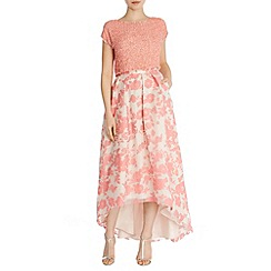 Coast - Bliss printed organza skirt
