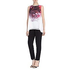 Coast - Debenhams Exclusive 'Rose' print tunic top