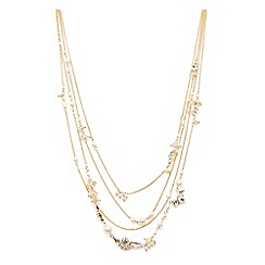 Coast - Kamille multi pearl necklace