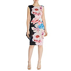 Coast - Tobago print anna dress d
