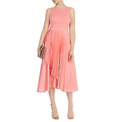 Coast - Jenza pleat wrap dress