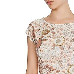 Coast - Pink 'Adaria' embellished top