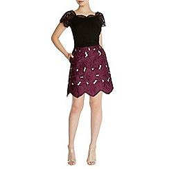 Coast - Ria Lace A-Line Skirt