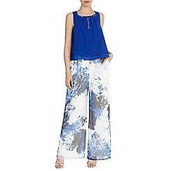 Coast - Meleri Organza Print Trousers