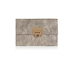 Coast - Filippa Snake Skin Clutch Bag