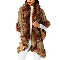 Coast - Kate faux fur cape