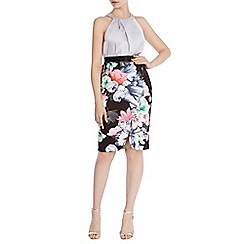 Coast - Debenhams exclusive 'Leche' Print Pencil Skirt