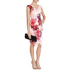 Coast - Adra Print Edris Midi Dress Petite