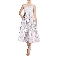Coast - Pink 'Alessia' jacquard dress