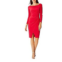 Coast - Debenhams Exclusive penny sleeved jersey dress