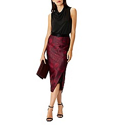 Coast - Beattie Print Pencil Skirt