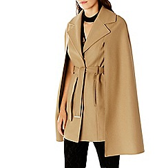 Coast - Ostaria Camel Cape Coat