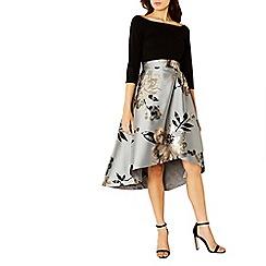 Coast - Debenhams Exclusive Chloey Metallic Shorter Length Dress