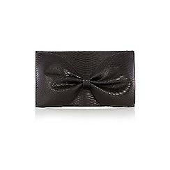 Coast - Snakeskin Bow Bag