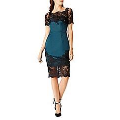 Coast - Debenhams Exclusive Helmi Dutchess Satin Emb Dress