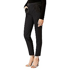 Coast - Eleanor Lace Trim Trousers Sl