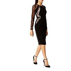 Coast - Leonoria Lace Panel Shorter Length Dress