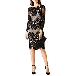 Coast - Debenhams Exclusive Moiselle Lace Sleeved Dress