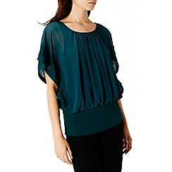 Coast - Kailia Lace Trim Calla Top