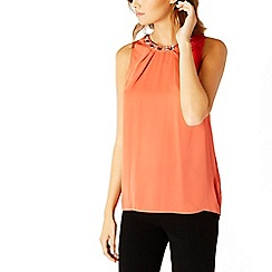 Coast - Debenhams Exclusive Etianna Embellished Neck Top