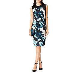 Coast - Debenhams Exclusive Hydranga Print Shorter Length Jermima Dress