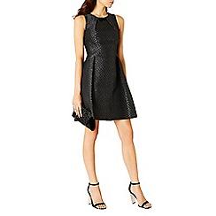 Coast - Tamley Textured Trim Dress