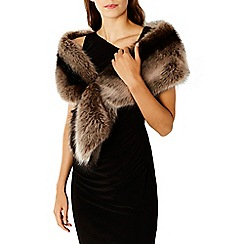 Coast - Peyton Stripe Husky Fox Faux Fur
