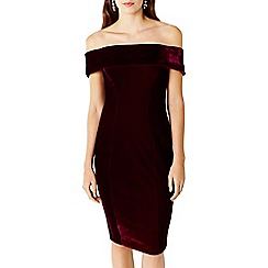 Coast - Cavalleri Bardot Velvet Dress