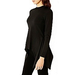 Coast - Black 'Martina' Draped Knit Top