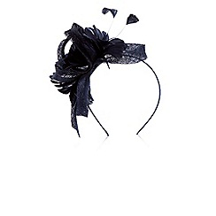 Coast - Navy blue Amelie flower fascinator
