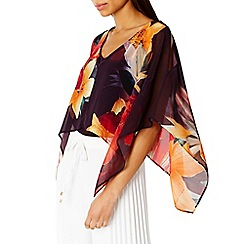 Coast - Delphi printed top