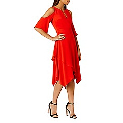 Coast - Red Rossano dress