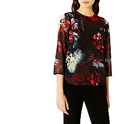 Coast - Debenhams Exclusive Nuro Print Top