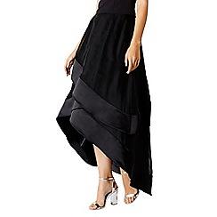 Coast - Black Lorenza Drape Skirt