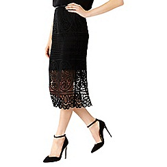 Coast - Audrey Lace Pencil Skirt