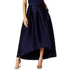 Coast - Leah jacquard hi low skirt