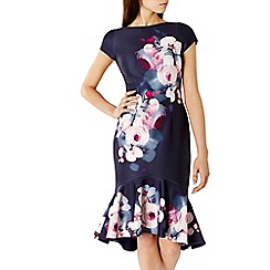 Coast - Debenhams Exclusive - Zosia print levin dress