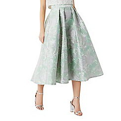 Coast - Rue jacquard skirt