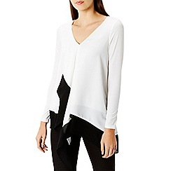Coast - White Jana mono top