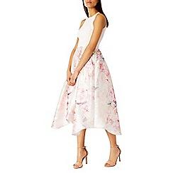 Coast - Multicoloured Orsay floral midi dress sl