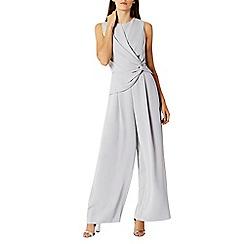 Coast - Grey Mimi twist front jumpsuit